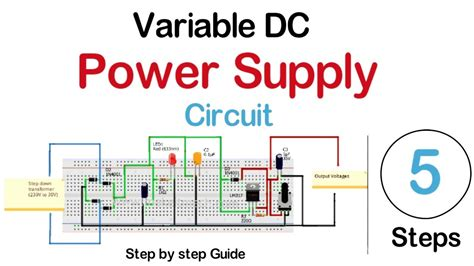 How Make Variable Power Supply