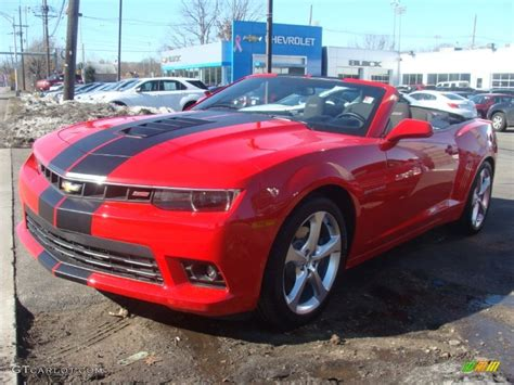 2015 Red Hot Chevrolet Camaro Ss/rs Convertible #102146900