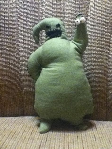 oogie boogie man  ghost plushie sewing  cut