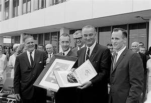 President Johnson With Gemini 4 Crew | NASA