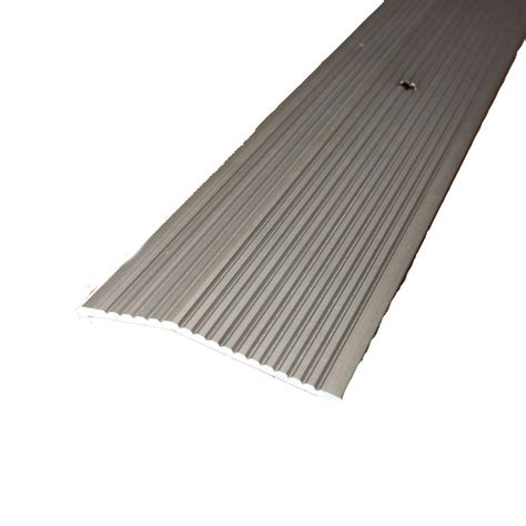 trafficmaster pewter fluted 36 in x 2 in carpet trim