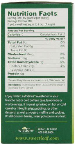 sweetleaf natural stevia sweetener  count buy
