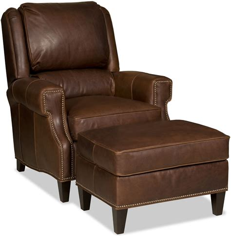 comfortable leather chair and ottoman comfortable tilt back chair and ottoman