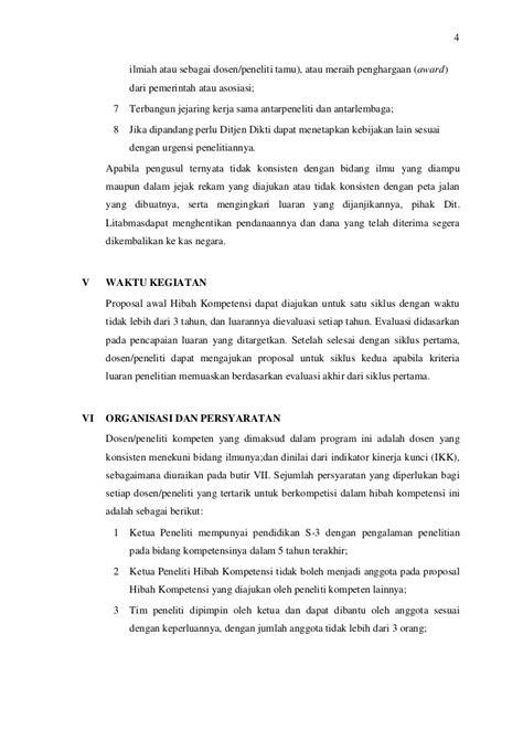 Panduan Penelitian Hibah Kompetensi 2011
