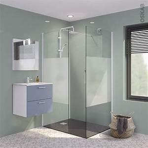 Paroi Salle De Bain : parois de douche verre d poli ~ Premium-room.com Idées de Décoration
