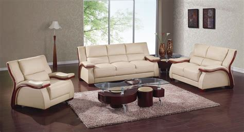 modern and leather living room sets