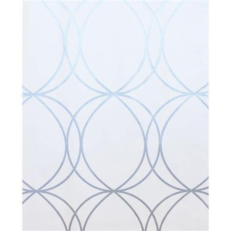 superfresco easy halo circles wallpaper  whitesilver