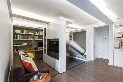 Unique Transformer Apartment Concept : A Transformer Apartment That Does More With Less