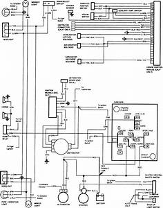 85 Chevy K10 Engine Wiring Diagram
