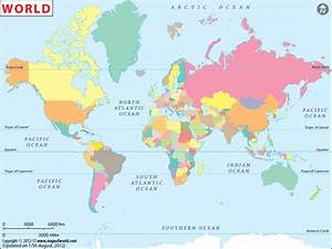Best Photos of World Map Without Countries - World Map ...