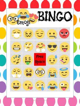 emoji bingo   charismatic classroom teachers pay
