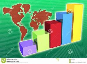 World Market Economy Growth And Increase Royalty Free