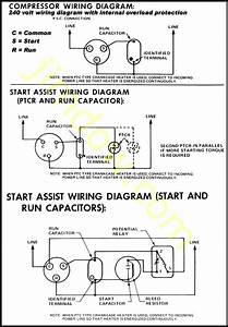 Fridge Compressor Wiring Diagram
