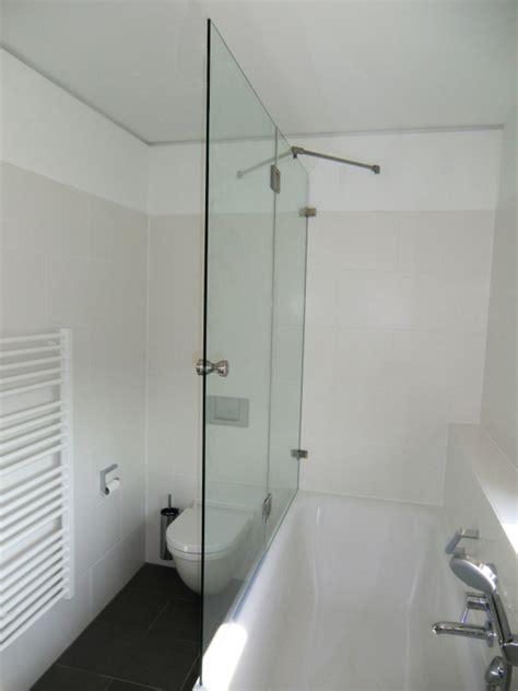 badewanne zum duschen duschwand als badewannenaufsatz nach ma 223 glasprofi24