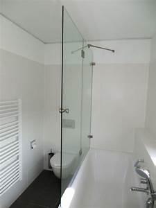 Badewanne Zum Duschen : duschwand als badewannenaufsatz nach ma glasprofi24 ~ Frokenaadalensverden.com Haus und Dekorationen