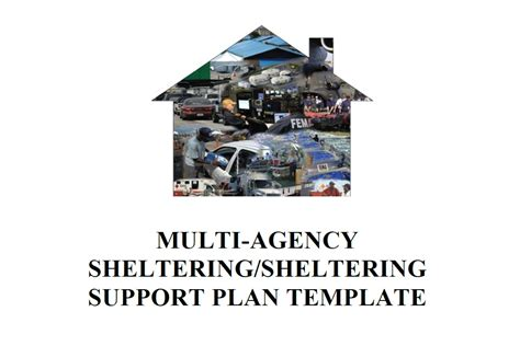 multi bureau multi agency sheltering sheltering support plan template
