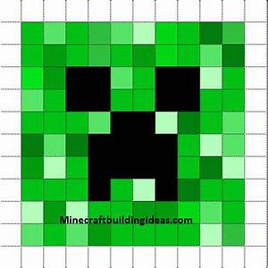 minecraft pixel art templates creeper With how to make minecraft pixel art templates