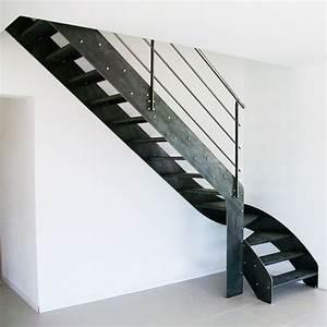 Escalier Métallique Industriel : escalier en m tal brut style industriel vend e escaliers ~ Melissatoandfro.com Idées de Décoration