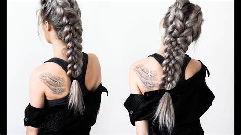 warrior braids hair tutorial youtube