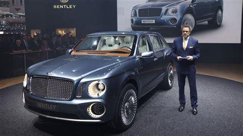 bentley bentayga concept new 2016 bentley bentayga suv revealed motoring research