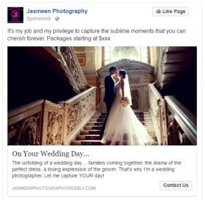 facebook marketing  photographers   find