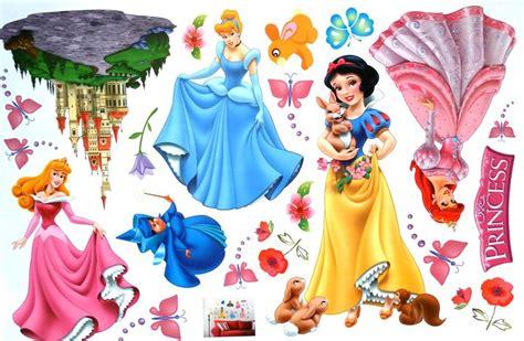 Assembled Size 200cm*140cm, Princesses Combination Wall