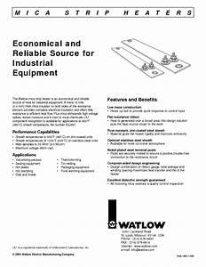 Mica Strip Heater Manuals