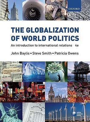 globalization  world politics  introduction
