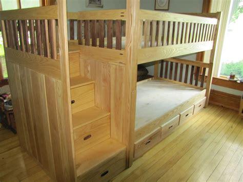 custom bunk bed  weber wood designs custommadecom