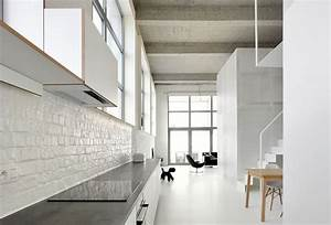 gallery of loft for adn architectures 5 With salle de bain style loft