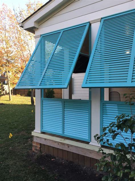 exterior shutters richmond bahama roberts awnings