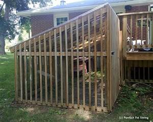 your pet sitter39s pets cat enclosures purrfect pet With outdoor dog kennel attached to house