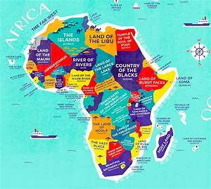 Literal World Map Reveals the Historical Meanings of ...
