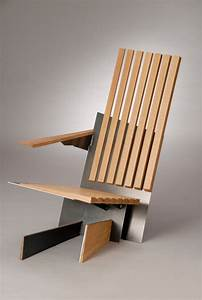 Minimalist And Unusual Furniture Of Various Types Of Wood ...