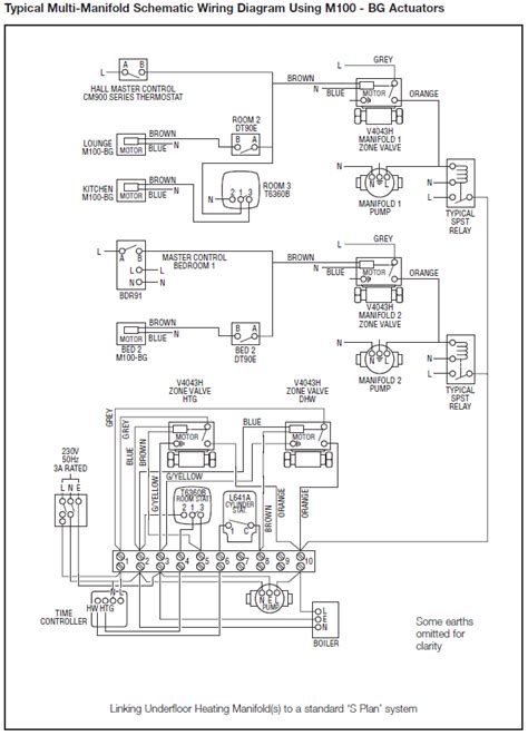 central heating wiring diagrams honeywell sundial u plan gas support services