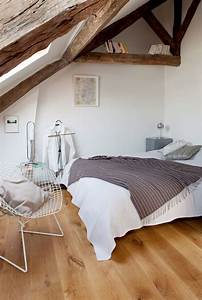Chambre Sous Les Combles : chambre sous combles d co c t maison ~ Melissatoandfro.com Idées de Décoration
