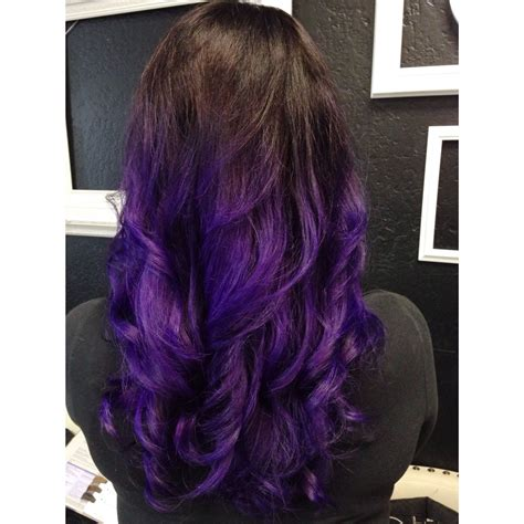 pravana hair color purple purple ombr 233 using pravana vivids violet personal