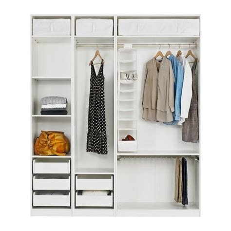 Inside Closet Storage by Pax Wardrobe With Interior Organizers Ikea Closets