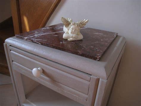 peinture pour repeindre meuble cuisine j 39 ai fini mon chevet trouvé en brocante à cysoing