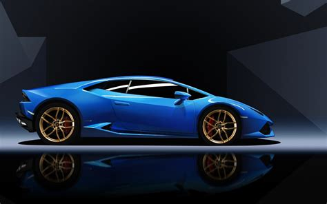 blue lamborghini huracan wallpaper hd car wallpapers