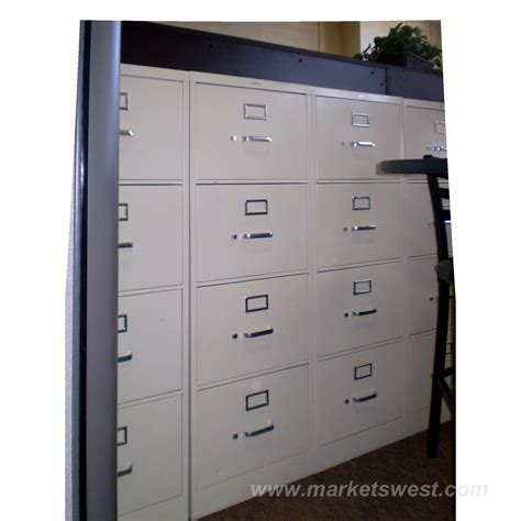 4 drawer hon vertical legal size file cabinets used