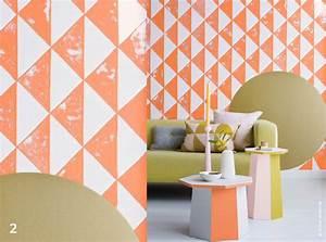 Decoration Peinture : 2016 haute en couleurs styl es et textur es traits d ~ Nature-et-papiers.com Idées de Décoration