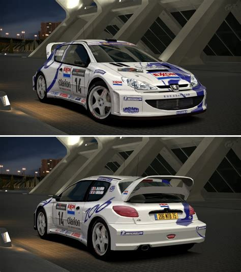 peugeot 206 rally peugeot 206 rally car 39 99 by gt6 garage on deviantart