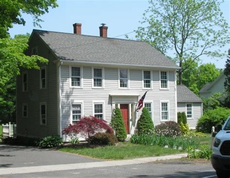 Dr Jeremiah West House 1760 Historic Buildings Of