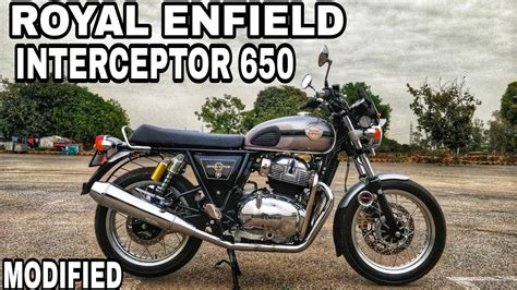 Royal Enfield Interceptor 650 Modification by Modified Royal Enfield Interceptor 650 Bike Modification