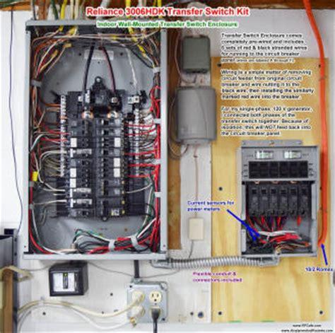 Reliance Controls Hdk Transfer Switch Kit Installation
