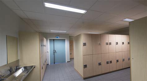 locker rooms glamox
