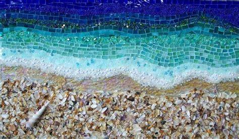 beach  water mosaic mosaics mosaic art mosaic