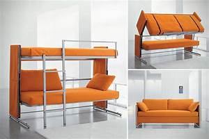 sofa bunk bed 10 out of the ordinary convertible beds With bunk bed sleeper sofa