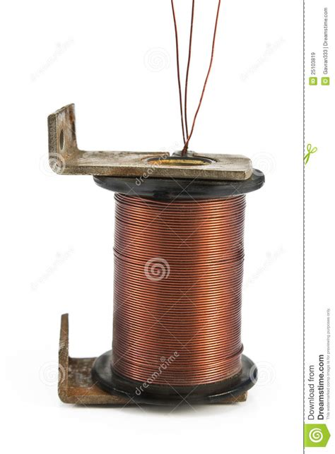 Electric Motor Coil by Electric Coil Motor Stock Image Image Of Winding Coil